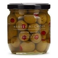 Harvey Nichols Green Olives Stuffed with Pimento 410g