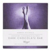 Harvey Nichols Cranberry, Cinnamon & Nutmeg Dark Chocolate Bar 90g