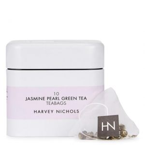 Harvey Nichols Jasmine Pearl Green Tea Teabags 10 per pack