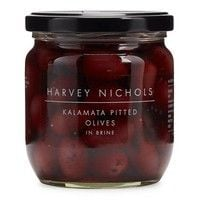 Harvey Nichols Kalamata Pitted Olives in Brine 410g