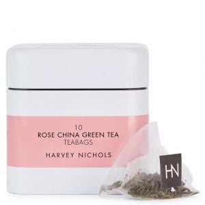 Harvey Nichols Rose China Green Tea Teabags 10 per pack