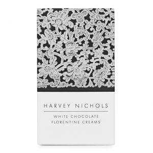 Harvey Nichols White Chocolate Florentine Creams 155g