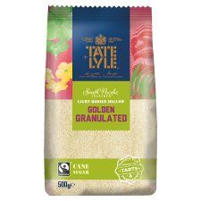 Tate and Lyle Golden Granulated Fairtrade Sugar 500g