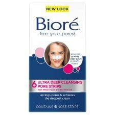 Biore Ultra Deep Cleansing Pore Strips 6 Xnose Strips
