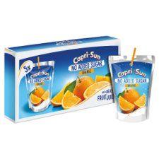 Capri Sun No Added Sugar Orange 5X200ml