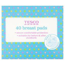 Tesco Breast Pads X40
