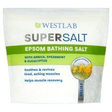 Westlab Epsom Supersalt Muscle Relief 1kg