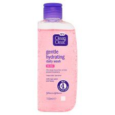 Clean and Clear Gentle Hydrating Daily Wash 150ml
