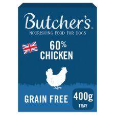 Butchers 60% Chicken 400g Tray