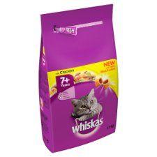 Whiskas 7+ Chicken Senior Dry Cat Food 1.9kg