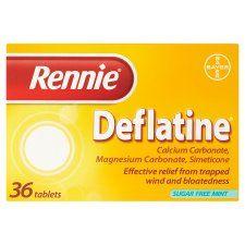 Rennie Deflatine Indigestion Tablets 36'S