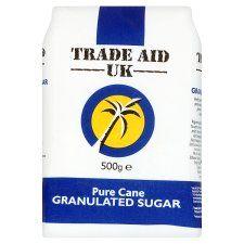 Trade Aid Uk Granulated Sugar 500g