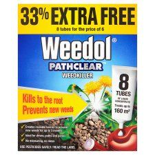 Weedol Pathclear Weed Killer Tubes