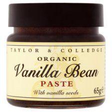 Taylor & College Organic Vanilla Bean Paste 65g