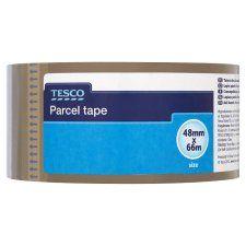 Tesco Parcel Tape 48Mmx66m