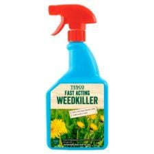 Tesco Fast Acting Weedkiller1l Ready To Use