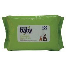 Tesco Nappy Liners X100