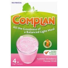 Complan Nutritionaldrink Strawberry 55g X 4