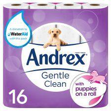 Andrex Gentle Clean 16Roll