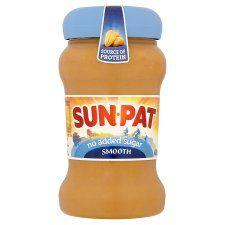 Sunpat Peanut Butter Smooth No Added Sugar 400g