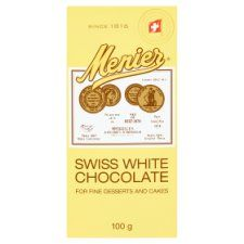 Menier White Chocolate Patissier 100g