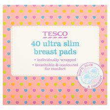 Tesco Ultra Slim Breast Pads X40