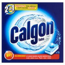 Calgon 3 In 1 Limescale Protection Tablets 15 Washes