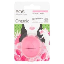 Eos Organic Strawberry Smooth Lip Balm 7g