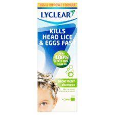 Lyclear Shampoo Plus Comb 200ml