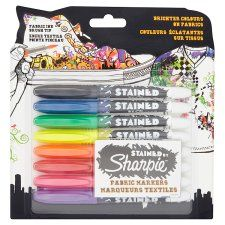 Sharpie Fabric Markers 8Pk