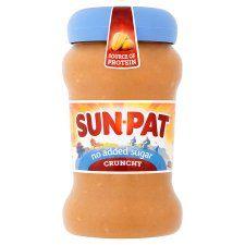 Sunpat Peanut Butter Crunchy No Added Sugar 400g