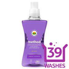 Method Laundry Detergent Wild Lavender 39Wash 1.56L