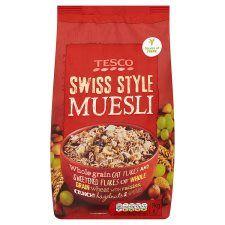 Tesco Swiss Style Muesli 1kg