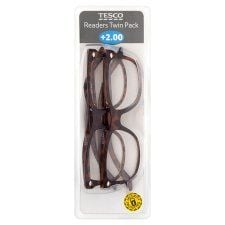 Tesco Reading Glasses Twin Pack 2.0