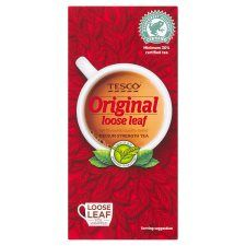 Tesco Loose Leaf Original Tea 250g