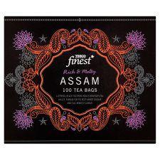 Tesco Finest Assams 100 Teabags 250g