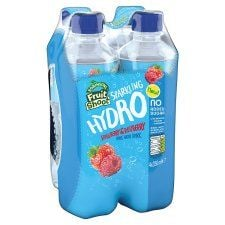 Fruit Shoot Hydro Sparkling Berry 4 Pack 350ml