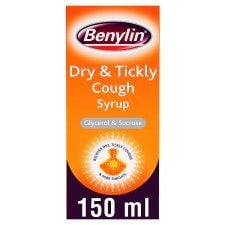 Benylin Dry and Tickly Cough Syrup 150ml