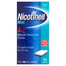 Nicotinell Mint Gum 4Mg 96S