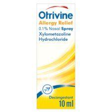 Otrivine Allergy 0.1% Nasal Spray10ml