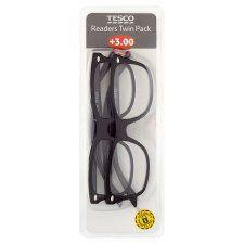 Tesco Reading Glasses Twin Pack 3.0