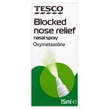 Tesco Nasal Decongestant Spray 15ml