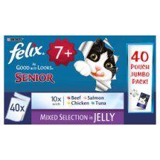 Felix As Good As It Looks Senior Pouches 40X100g