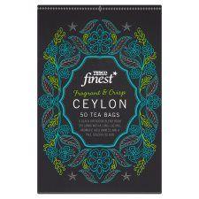 Tesco Finest Ceylon 50 Tea Bags 125g