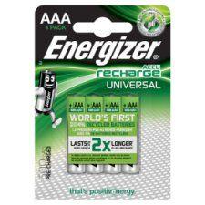 Energizer Universal AAA 4 Pack 500Mah
