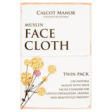 Calcot Manor Muslin Facecloth