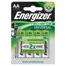 Energizer Universal AA 4 Pack 1300 Mah