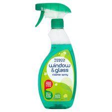 Tesco Window Cleaner Spray 500ml