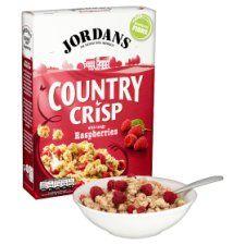 Jordans Country Crisp Raspberry Cereal 500g