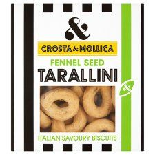 Crosta and Mollica Tarallini Fennel Seed 170g